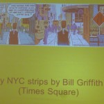 Times Square strips, Bill Griffith