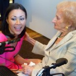 Ann Curry had interviewed Ruth on the TODAY Show and was excited to see her at ICP's Award gala.