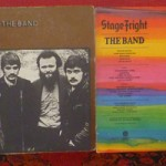 Music From Big Pink, The Band, Stage Fright, Cahoots (LP front covers)