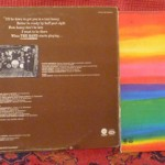 Music From Big Pink, The Band, Stage Fright, Cahoots (back covers)