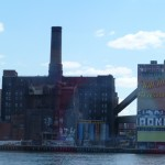 Domino Sugar refinery.
