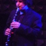 Drew Jerucka handles clarinet and violin.