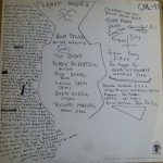 Planet Waves (back cover)