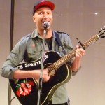 Tom Morello, playing &quot;Black Spartacus&quot;