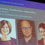 The Hillman Prizes include an award for journalism in Canada.