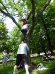 Tree climbing for music w/an assist from Radio 3 listener Kirk Hamilton.