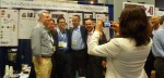 Zola Books had a great response at BEA to their new social reading platform. Here, Zola CEO Joe Regal, (2nd from right) made a happy group with his colleagues.
