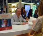 Ian McEwan, meeting booksellers and librarians and signing his upcoming novel 'Sweet Tooth.'