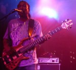 Nick Daniels playing his five-string bass