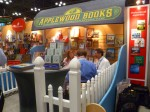 Kyle and I really enjoyed the look of the booth and the books from Applewood Publishing, featuring 19th and early 20th century Americana.