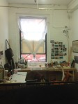 Jen Hitchings' studio