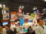 The Workman Publishing booth is always one of the best.