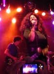 Chaka Khan electrified the crowd.