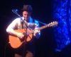 Here Nevins played a nylon-string acoustic for a delicate touch in a quiet song.