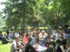Crowd at the unofficial CBC Radio 3 picnic.