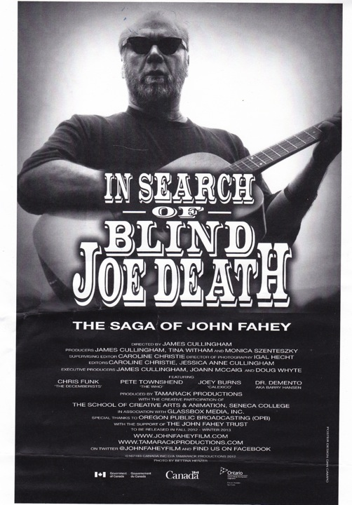 John Fahey Facebook John Fahey Docu Along With The