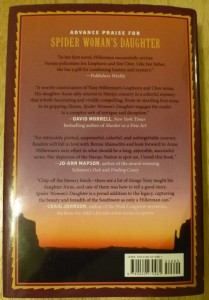 Anne Hillerman back cover