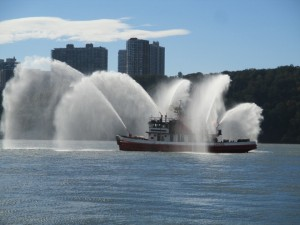 Fireboat spray 3