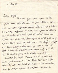 Tony letter page 1