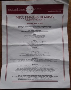 NBCC readings