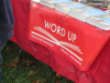 Word Up Books is a volunteer-run community bookstore and art space in Washington Hts.